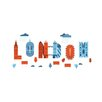 East End Prints 'London' by Chris Wharton Graphic Art