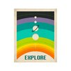 East End Prints 'Explore Rainbow' by Jazzberry Blue Graphic Art