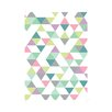 East End Prints Triangle Graphic Art