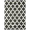 Asiatic Handgewebter Teppich Artisan in Anthrazit