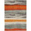 Asiatic Handgearbeiteter Teppich Boca in Orange