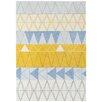 Asiatic Handgearbeiteter Teppich Boca in Stockholm Blau