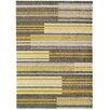 Asiatic Handgearbeiteter Teppich Boca in Gelb