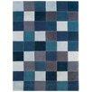 Asiatic Handgetufteter Teppich Eden in Blau