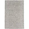 Asiatic Handgewebter Teppich Ives in Schwarz / Weiß