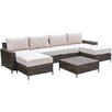 Creative Living Palm Cove 7 Piece Deep Seating Group with Cushion