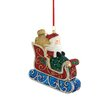 Reed & Barton Classic Christmas Santa and Sleigh Decoration