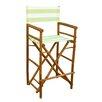 """ZEW Inc Bamboo Indoor / Outdoor 47"""" High Director Chair (Set of 2)"""