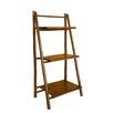 ZEW Inc Bamboo 3 Tier Decorative Accent Shelves Bookcase