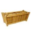 St 3 Piece Bamboo Planter Box Set - Bayou Breeze Planters