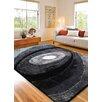 Rug Factory Plus Living Shag Black/Gray Rug