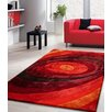 Rug Factory Plus Living Shag Shades of Red Rug