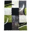 Rug Factory Plus Lola Hand-Tufted Black/Gray Area Rug