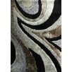 Rug Factory Plus Hand-Tufted Gray/Black Area Rug
