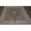 Rug Factory Plus Tabriz Hand-Tufted Blue Area Rug