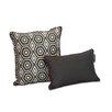 EZ Living Home Honeycomb Decorative Cotton Throw Pillow