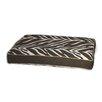 EZ Living Home Zebra Memory Foam Topper Pillow Pet Bed
