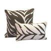 EZ Living Home Zebra Decorative Reversible Cotton Pillow