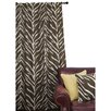 EZ Living Home Zebra Single Curtain Panel