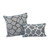 EZ Living Home Giraffe Decorative Cotton Throw Pillow