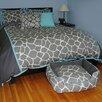 EZ Living Home Giraffe 3 Piece Duvet Set