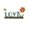 Blossom Bucket 'Love' with Butterfly Letter Blocks