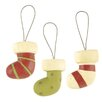Blossom Bucket 3 Piece Small Stockings Ornaments Set (Set of 4)