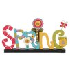 Blossom Bucket Spring with Flower Letter Block