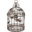 Blossom Bucket Butterfly Designed Decorative Bird Cage