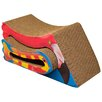 Imperial Cat Scratch 'n Shapes Fins 'N Feathers Recycled Paper Scratching Post