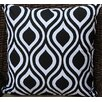 Auburn Textile Modern Print Cotton Throw Pillow
