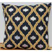 Auburn Textile Velvet Accent Cotton Throw Pillow