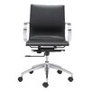 dCOR design Glider Low-Back Office Chair