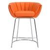 dCOR design Latte Counter Barrel Chair (Set of 2)