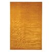 dCOR design Tibetan Velvet Straw Orange Area Rug
