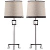 "Thom Filicia Home Collection Hanover 36"" H Table Lamp with Empire Shade (Set of 2)"