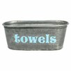 """A Southern Bucket """"Towels"""" Tub"""