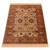 Barefoot Artsilk Rugs Teppich Indian Agra in Braun