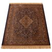 Barefoot Artsilk Rugs Persian Medallion Handmade Brown Area Rug
