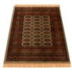 Barefoot Artsilk Rugs Persian Bokhara Hand-Woven Brown Area Rug
