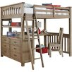 NE Kids Highlands Loft Bed with Storage