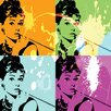 "Selections by Chaumont ""Audrey"" Graphic Art"