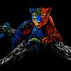 """Selections by Chaumont """"Majestic Leopard"""" Painting Print"""