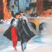 Selections by Chaumont River Walk 1 Painting Print on Canvas
