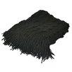 Pur Modern Cashmere Republic Scallop Edge Wool Blend Throw Blanket