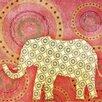 Evive Designs Elephant Paper Print