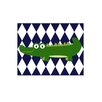 Evive Designs Funky Alligator Paper Print