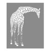 Evive Designs Giraffe Paper Print
