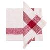 Found Object Corner Cross Linen Napkin (Set of 4)