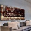 Marmont Hill Leinwandbild Bev Hills Best, Typografische Kunst